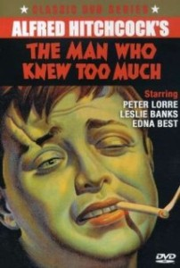 The Man Who Knew Too Much 1934 poster